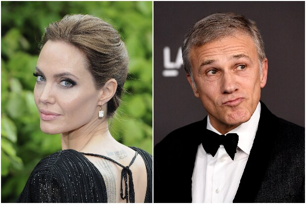 Angelina Jolie Christoph Waltz