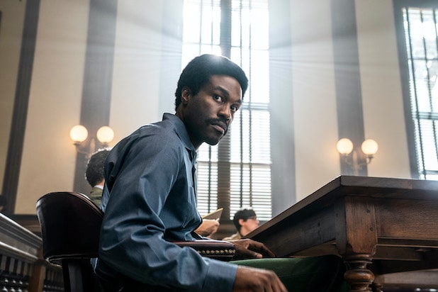 The Trial of the Chicago 7 Yahya Abdul-Mateen II Bobby Seale
