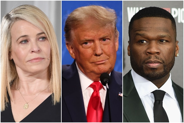50 Cent Does a 180, Says He 'Never Liked' Trump After Chelsea Handler Chews Him Out thumbnail