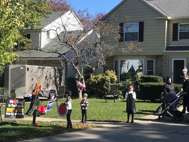 Cleveland house Trump 2