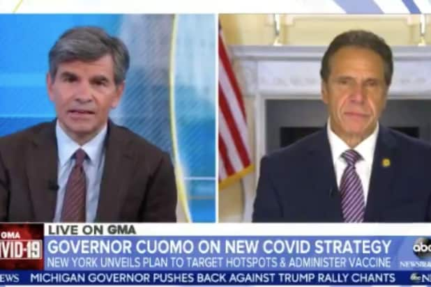 People Should Be 'Skeptical' About the Vaccine, Says NY Gov Cuomo (Video)