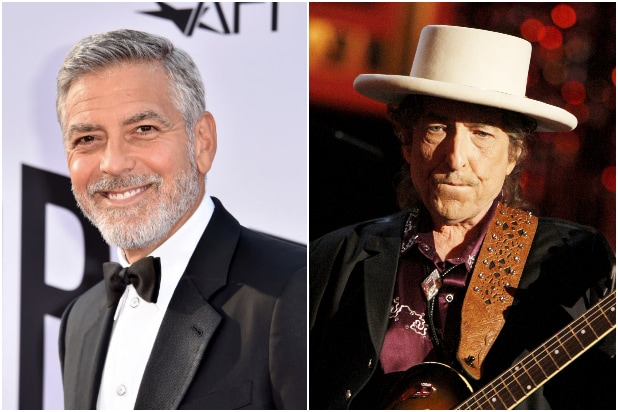 George Clooney Bob Dylan Calico Joe