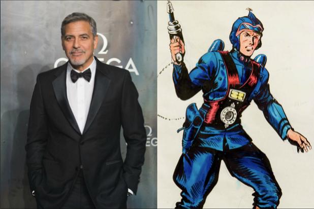 George Clooney Buck Rogers