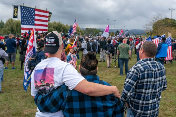 Proud Boys rally in Portland