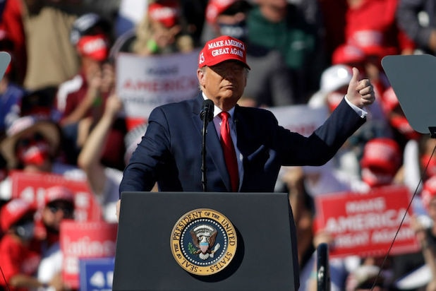 Trump's Latest Whopper: California Requires 'Special' Masks That Can't Be Removed
