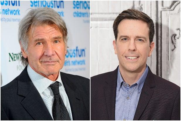 Harrison Ford Ed Helms