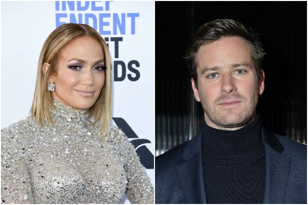 Jennifer Lopez Armie Hammer Shotgun Wedding