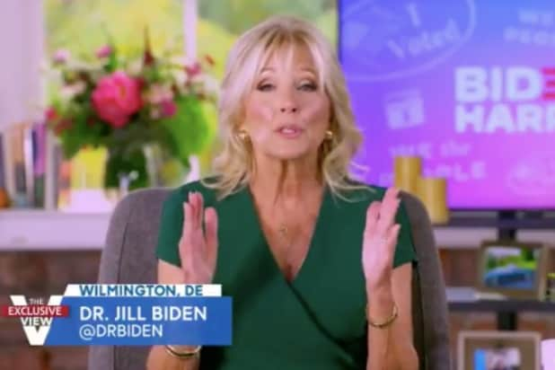 Jill Biden Tells 'The View' That Trump's 'Smears' Against Her Family Are 'Just Distractions'