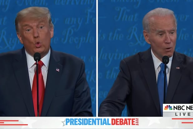 Joe Biden Donald Trump Debate