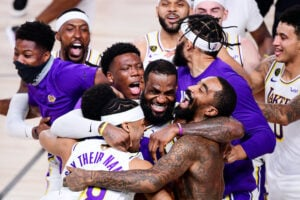 NBA Finals Lakers win