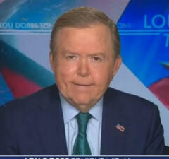 Lou Dobbs Is Mad at Lindsey Graham