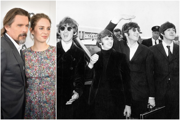 Maya Hawke Ethan Hawke The Beatles Revolver
