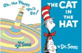 Oh The Places You'll Go Cat In the Hat Dr Seuss