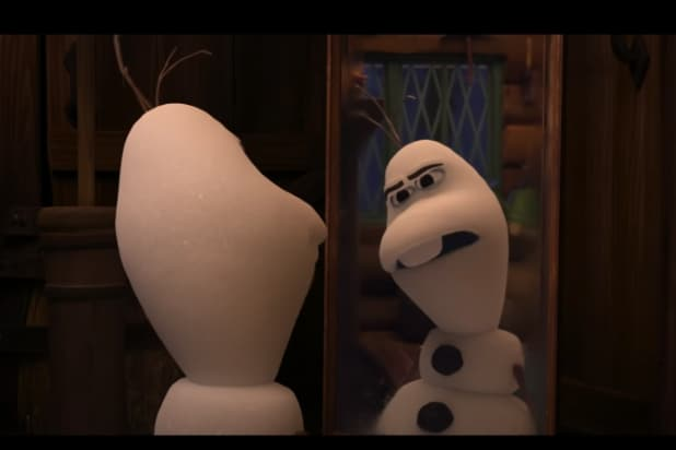 "Olaf in ""Once Upon a Snowman"" Frozen"