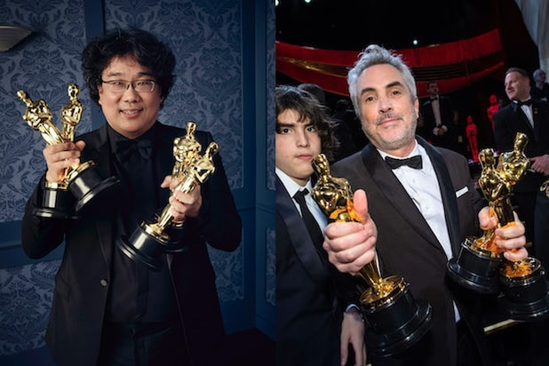 Parasite and Roma at the Oscars