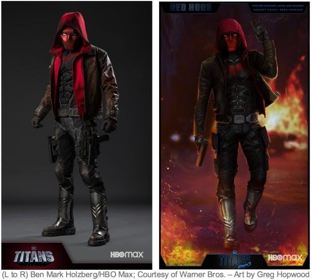 Red Hood supersuit Titans