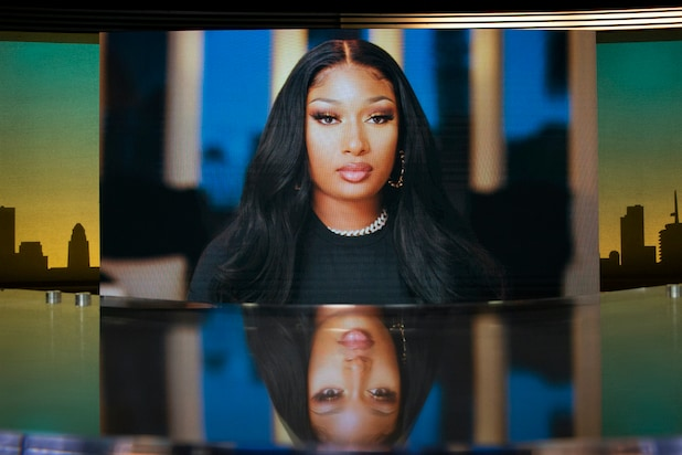 """Megan Thee Stallion in """"Sarah Cooper: Everything's Fine"""""""
