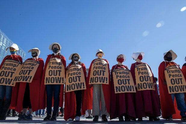 Women's March D.C. Handmaid's Tale