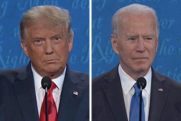 Donald Trump Joe Biden debate