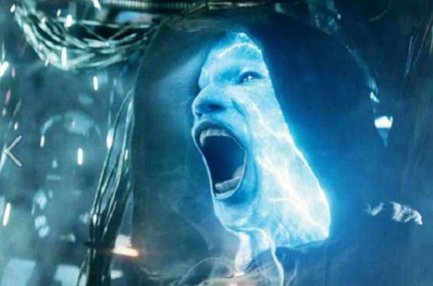 Jamie Foxx Electro Spider-Man