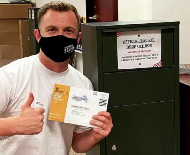 jimmy kimmel live fake ballot box