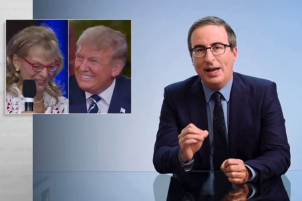 John Oliver Says NBC Town Hall Revealed 'the Perfect Way to Ask Trump a Question'