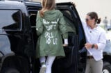 melania trump i really don't care about immigrant children give me a break