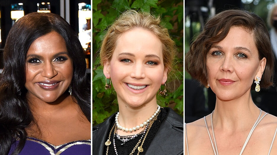actresses too old fat mindy kaling jennifer lawrence maggie gyllenhaal