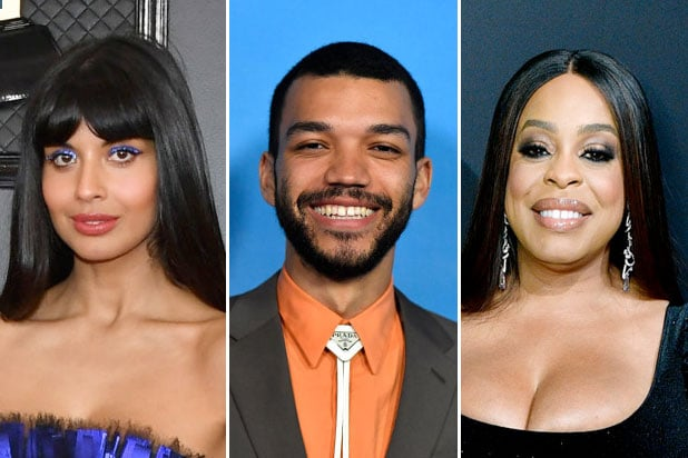 lgbtq hollywood 2020 comin out jameela jamil justice smith niecy nash
