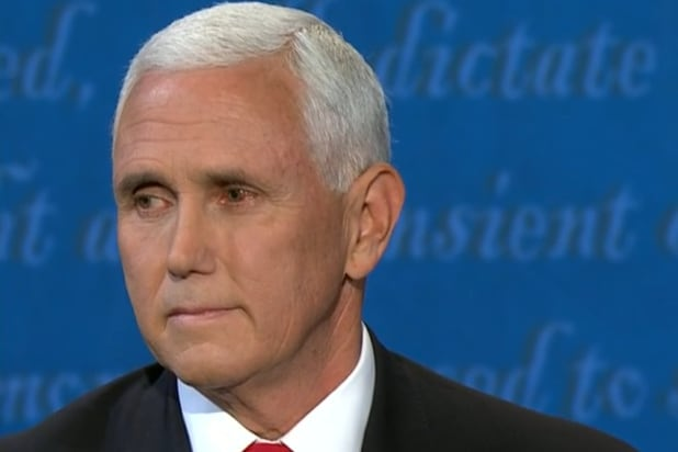 people want to know what's wrong with mike pence's eye vice presidential debate kamala harris