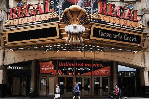 Regal cinemas closed