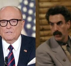 Rudy Giuliani Caught With 'Hand Down His Pants' in Borat Sequel