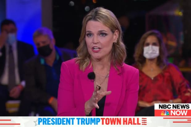 Republicans Are Not Happy Savannah Guthrie Pushed Back on Trump During Town  Hall