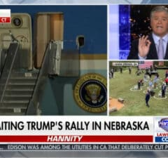 sean hannity fox news mocks biden for being safe and praises trump for spreading covid