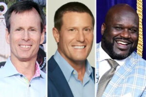Tom Scaggs, Kevin Mayer, Shaquille O'Neal
