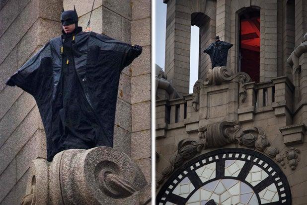 The Batman': Stuntman Rocks Trash Bag-Looking Batsuit in New Set Pic  (Photos)