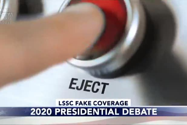 the late show with stephen colbert eject button for next presidential debate joe biden donald trump