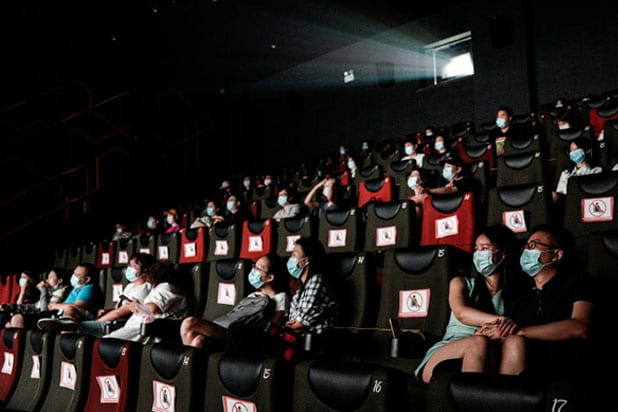 movie theater pandemic