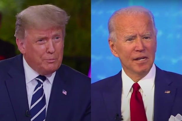 trump biden town hall ratings