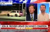 tucker carlson floats conspiracy theory about donald trump getting covid