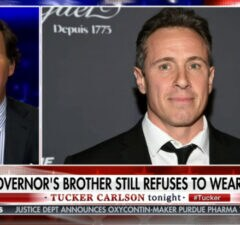 tucker carlson obsessed with chris cuomo