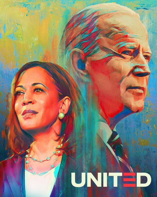 Biden-Harris campaign art