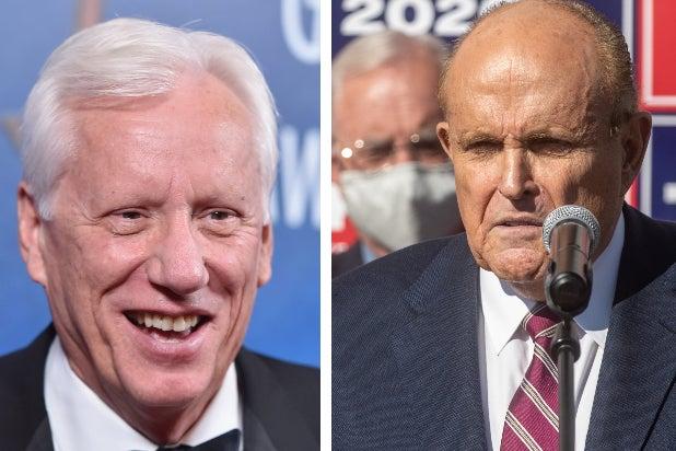 James Woods and Rudy Giuliani