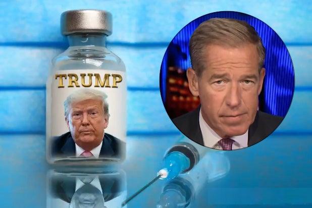 Brian Williams Donald Trump COVID vaccine(3)