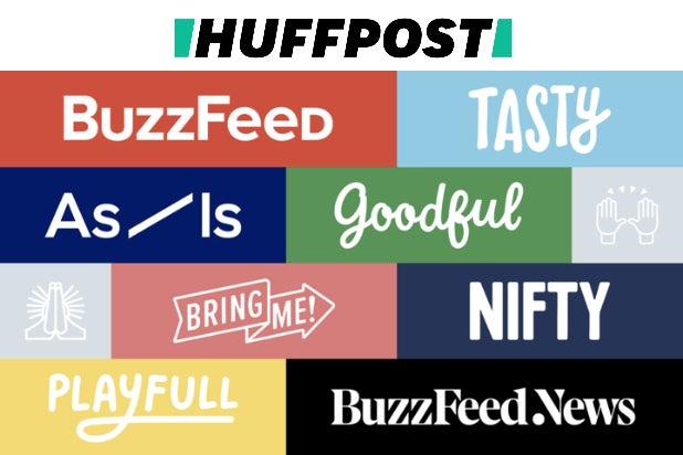 BuzzFeed, HuffPost logos (1)