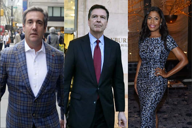 trump biden michael cohen james comey omarosa