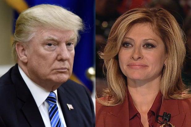 Donald Trump Maria Bartiromo