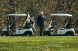 Donald Trump Sad Golf Loses to Joe Biden
