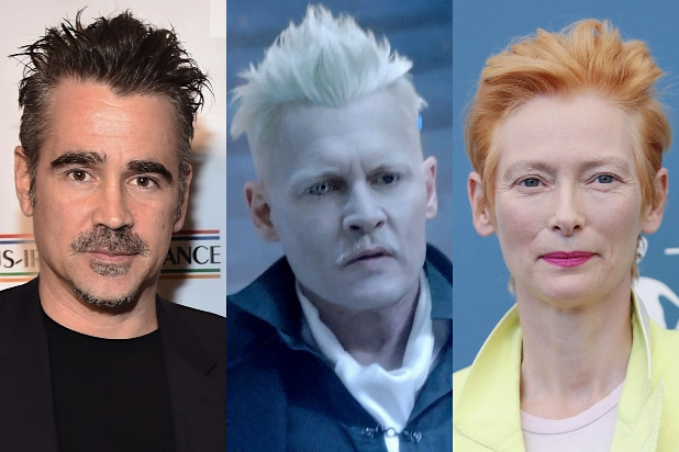 Fantastic Beasts Colin Farrell Johnny Depp Tilda Swinton