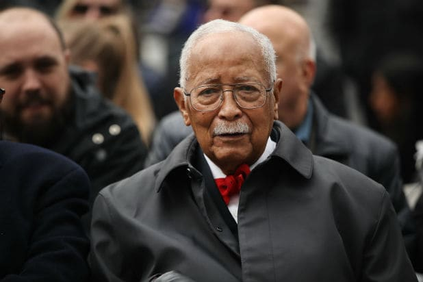 Former New York Mayor David Dinkins Dies at 93